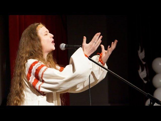 Юлия Малинова Молитва фрагмент концерта Поможем вместе г Стародуб 02 12 2016 г