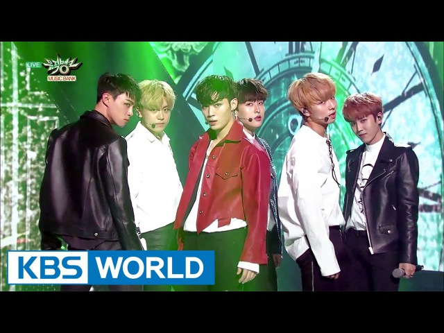Seven O'Clock - ECHO   세븐어클락 - 시계바늘 [Music Bank / 2017.04.28]