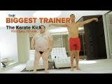 CRISTIANO RONALDO TRAINING SECRETS | How to do the perfect Karate Kick | ROC Live Life Loud