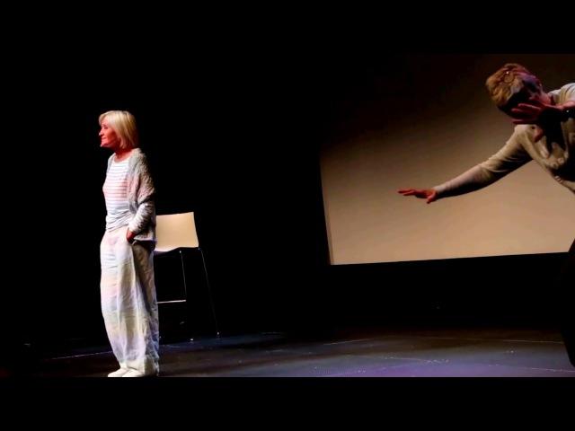 Светлана Иванникова читает стихотворение Давида Самойлова в спектакле Моя сча ...