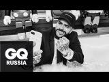Продюсер года GQ 2017 Тимати залезает в ванну и раздает сахарную вату ради GQ