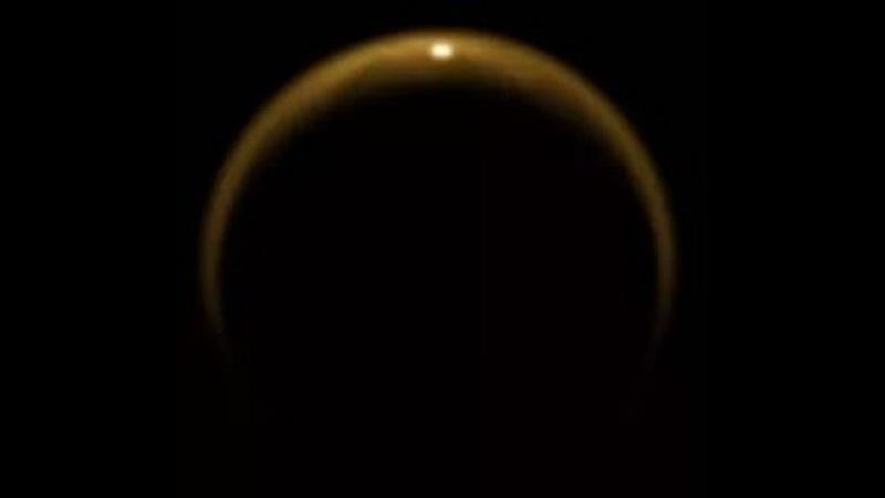 Очень редкие реальные видеокадры Купола Плоской Земли с большой высоты