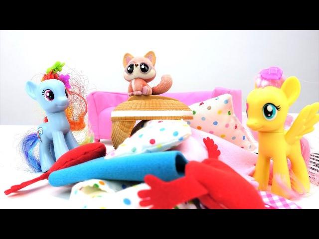 Мой маленький пони. Дружба - это чудо/ МУЛЬТИК С ИГРУШКАМИ! Пони принесли домой л ...