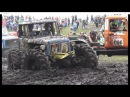 Off-Road Trucks in Mud field in Klaperjaht 2016