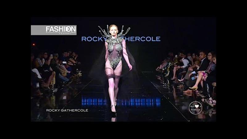 ROCKY GATHERCOLE Los Angeles Fashion Week AHF FW 2017 2018 Fashion Channel