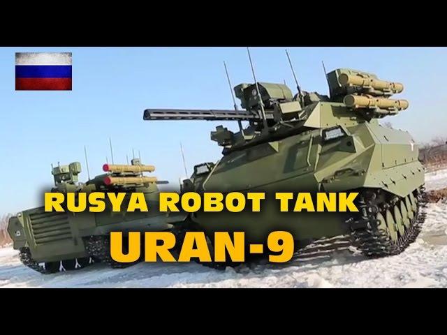 Rusya'nın robot tankı URAN-9 ile tanışın 2017 hd
