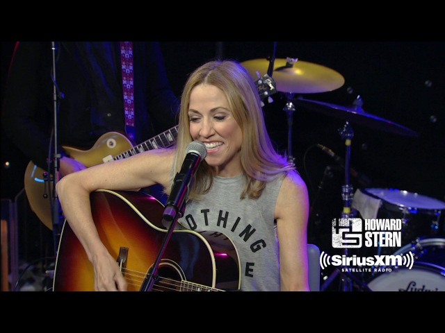 Sheryl Crow Everyday Is a Winding Road Live on the Howard Stern Show