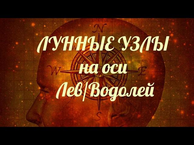 Кармические Узлы в знаках Льва/Водолея: кармические задачи и направления развит...