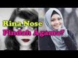 RINA NOSE Lepas Hijab, PINDAH AGAMA?? (Reaction Video)