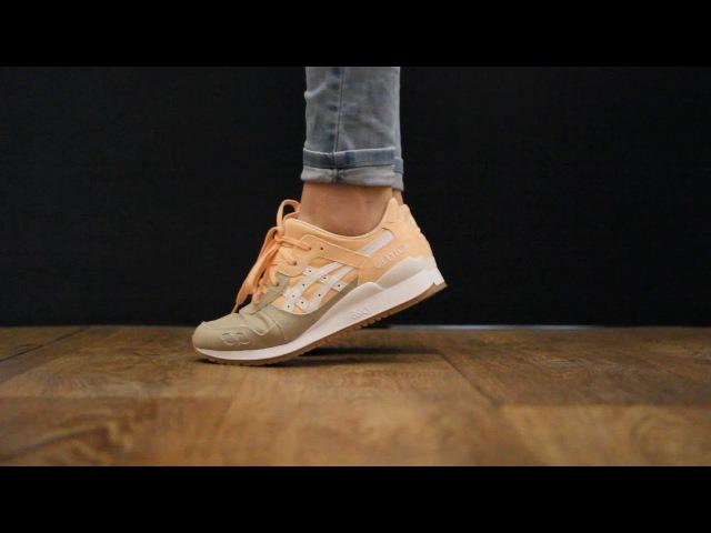 ONFEET Asics Gel-Lyte III Bleached Peach | sneakers.by