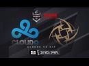 Cloud9 vs NiP - ELEAGUE Premier 2017 - de_mirage [ceh9, MintGod]