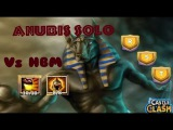 Castle Clash Anubis HBM Solo  I,R and T!!! MONSTER