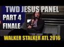 The Walking Dead Jesus Panel Walker Stalker Atlanta 2016 Panel Part 4