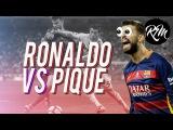 Cristiano Ronaldo Vs Gerard Pique ● Amazing Skills Show ● 2017