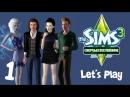 Lets Play The Sims 3 Сверхъестественное - 1 - Добро пожаловать в Мунлайт Фолз