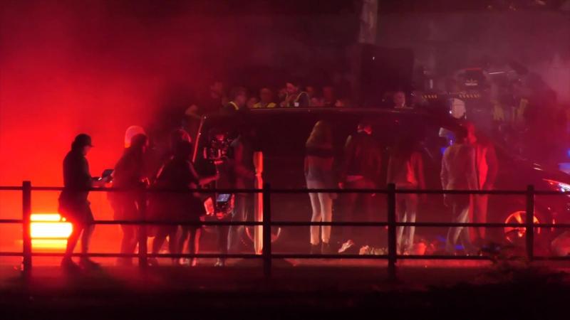 Восьмое чувство: Видео со съемок (17 октября 2017, Париж)