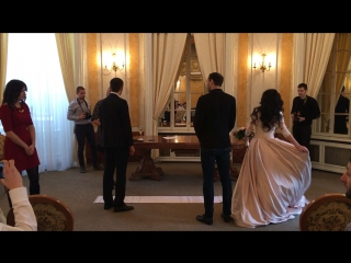 Ukrainian wedding in Lviv Art Gallery!