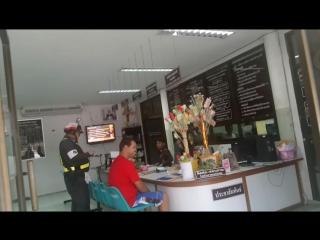 Оплачиваю штраф в полицейском участке Таиланда
