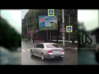 Во Владикавказе задержан автолюбитель, устроивший стрельбу в центре города