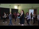 Репетиция  Всеукраинского флешмоба «Безопасность дорожного движения» совместного с патрульной полицией г.Кривого Рога