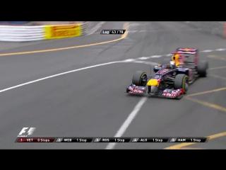 F1 2012. Гран-при Монако. Гонка