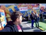 #ТНТ ЗДЕСЬ!!! Прямой эфир Ведущий Александр Козлов  с ТРЦ Акварель, 03.10.17