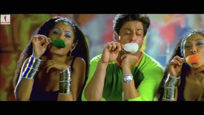 ♫Шахрукх Кхан Трепетные сердца Phir Bhi Dil Hai Hindustani Retro Bollywood