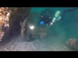 Легендарный пароход Веста.  Видео от крымский акванавтов.
