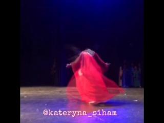 Kateryna Siham. Egypt in Turin Gala show.