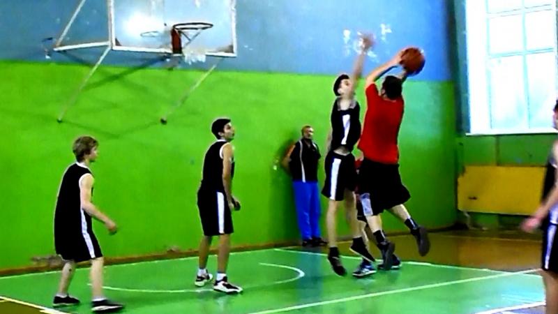 Баскетбол, ЧГ Кимры: Старое Савёлово vs Школа №1 (матч 2)