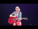 Taylor Swift - Haunted (Live on The Red Tour 2013, Glendale night 1)