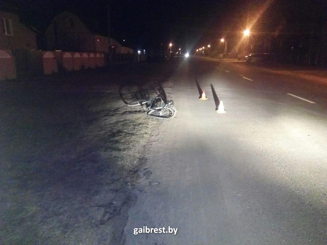 В Пинске совершен наезд на пешехода: водитель скрылся