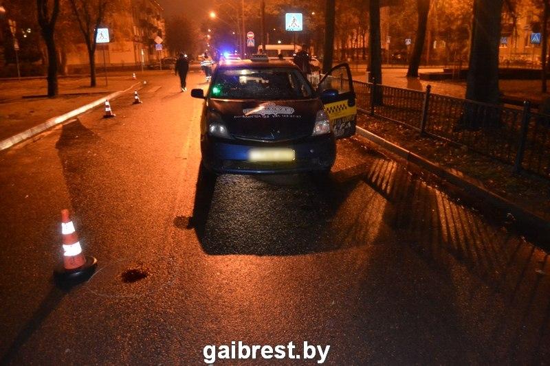 ВБресте таксист насмерть сбил пешехода