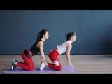 Упражнения для похудения. Тренировка в паре [Workout - Будь в форме]