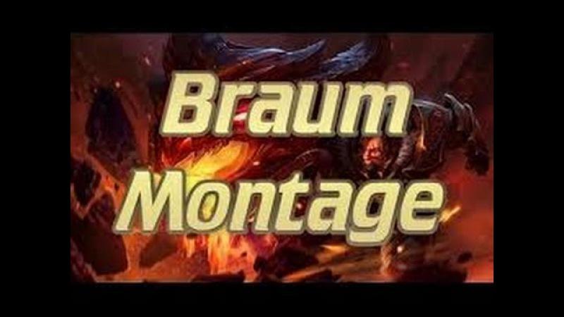 League of legends braum montage