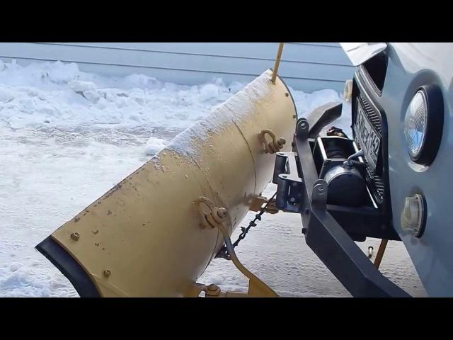 Лопата на УАЗ головастик своими руками Часть 2