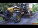 4K| MB Arocs, Volvo FMX 500 CAT 140M3 Working On A Gravel Road