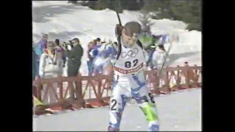 1992 Winter Olympics - Men's 10K Biathlon