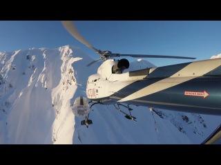 Heliboarding in Sochi: SanDisk Kirill Umrikhin video project