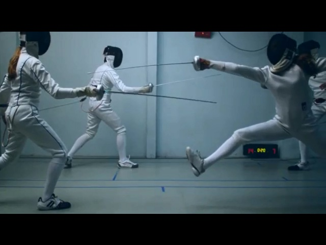 Vattenfall´s Olympic sponsorship fencing