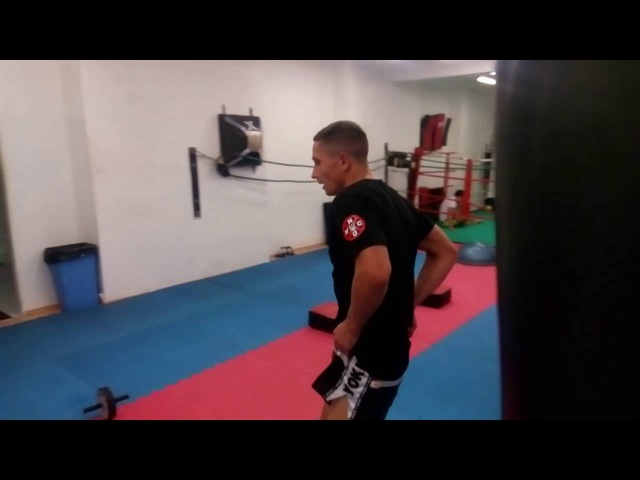 Training circular Andriy Pitbull-Sambir (Prague )