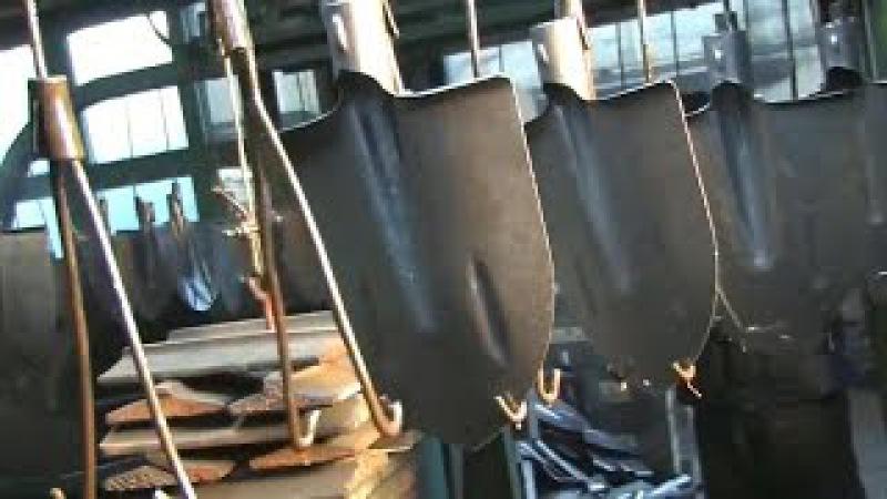 Как делают лопаты из старых рельс