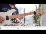 Jason Becker - Altitudes Arpeggios Lesson &amp Tab