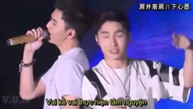 (Vietsub) (Khổng Thùy Nam - Hoàng Lễ Cách ) Running - 25/12/2015 ( 奔跑 - 孔垂楠40644;礼格 )