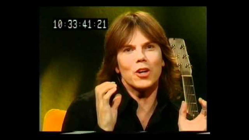 Joey Tempest at Bettina's show in Finland 2002