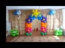 Оформление зала к празднику в детском саду