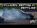 STL! — Nissan Laurel C33 SR20 Drifting Onboard at Driftland UK with 326POWER Knuckles