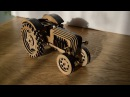 урааа!!! я сделал трактор! игрушечный :)
