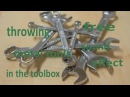 Throwing Metal Tools in the Toolbox -   Free Sound Effect