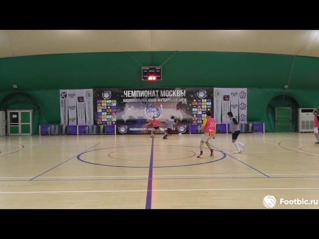 FOOTBIC.RU. Видеообзор 26.10.2017 (Метро Марьина Роща). Любительский футбол